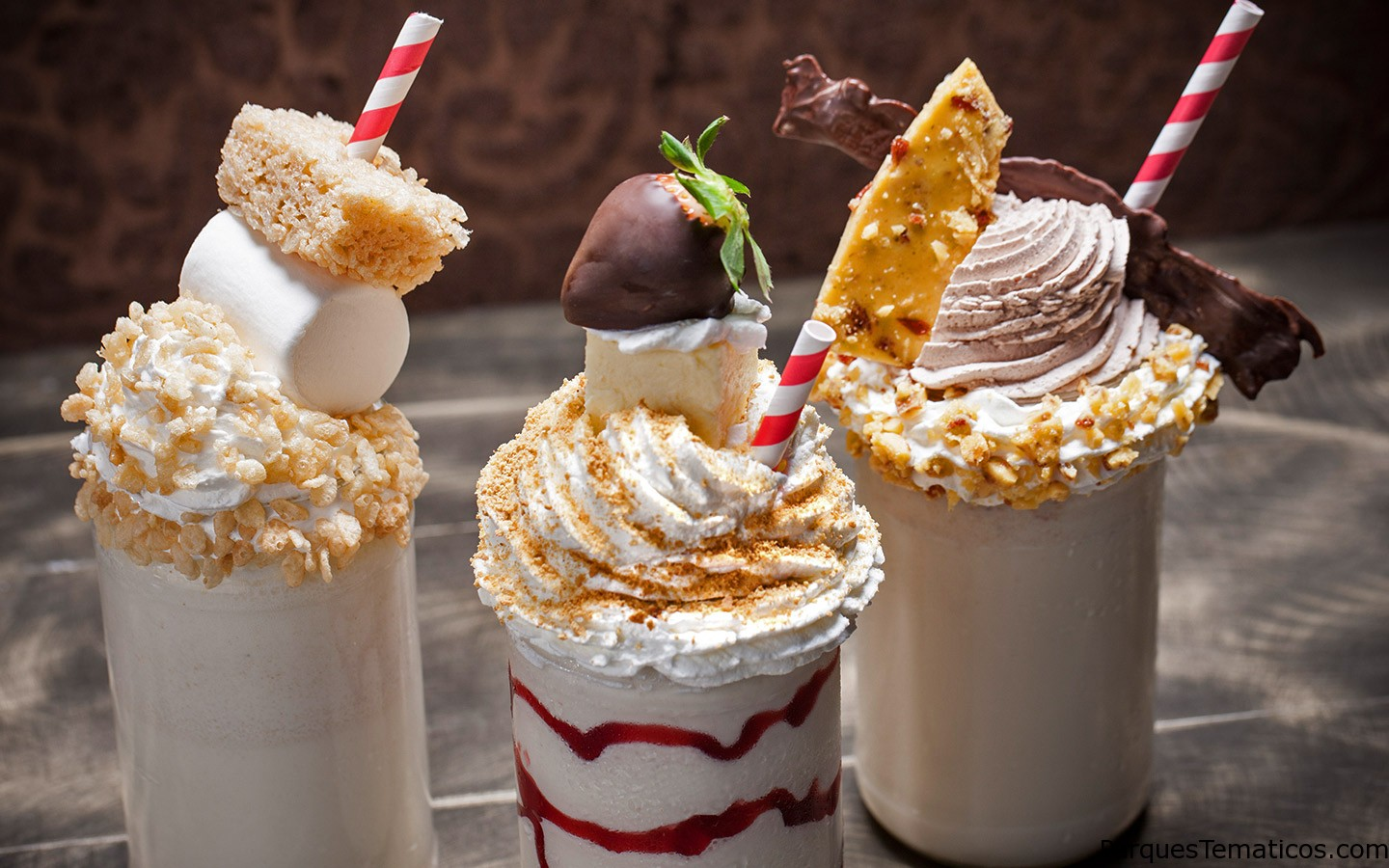 Postres Toothsome Chocolate Factory en CityWalk