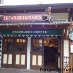 Cada vez más parques de Disney ya tienen su Starbucks el que permite desayunar en forma rápida y económica