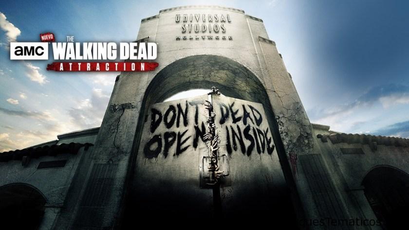 The Walking Dead llega a Universal Studios Hollywood