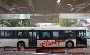 Servicio de autobús de Walt Disney World