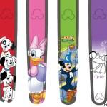 MagicBand con personajes clásicos de Disney