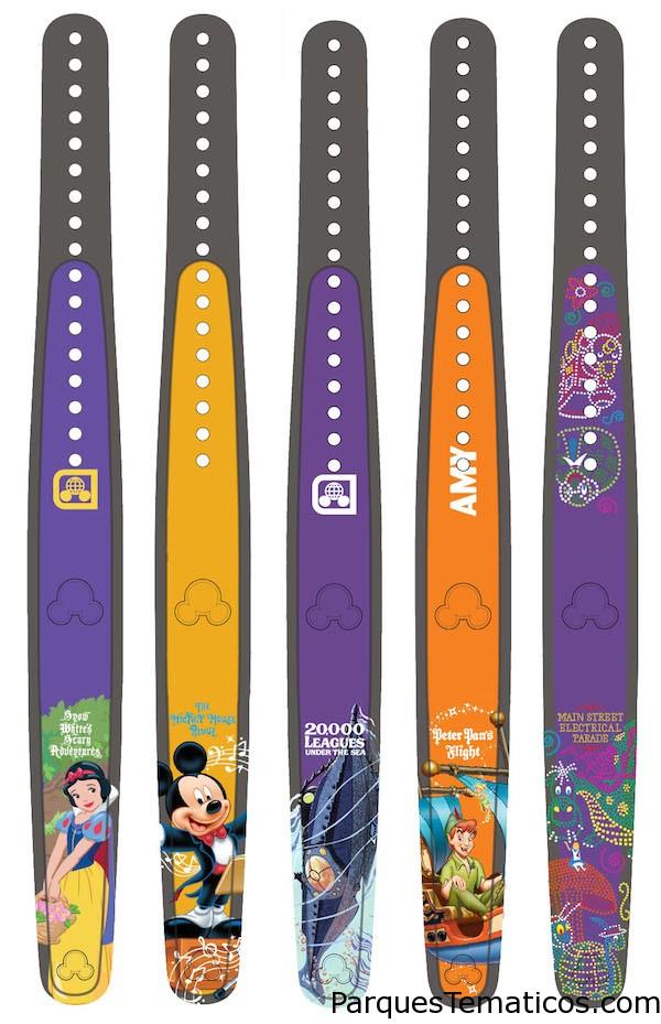 MagicBand de las películas Disney