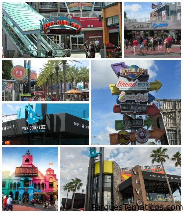 Nuevos restaurantes en CityWalk de Universal Orlando