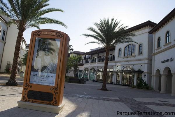 Nuevo paseo de compras Town Center en Disney Springs
