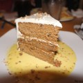 La famosa Carrot Cake en Cheese Cake Factory