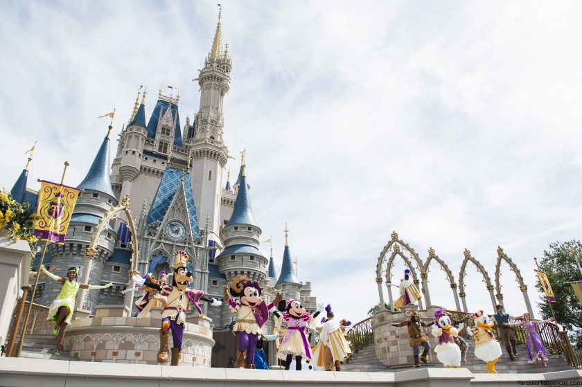 Mickey's Royal Friendship Faire Stage Show at Magic Kingdom Park
