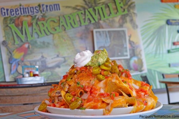 Volcano Nachos at Jimmy Buffett's Margaritaville in Universal CityWalk