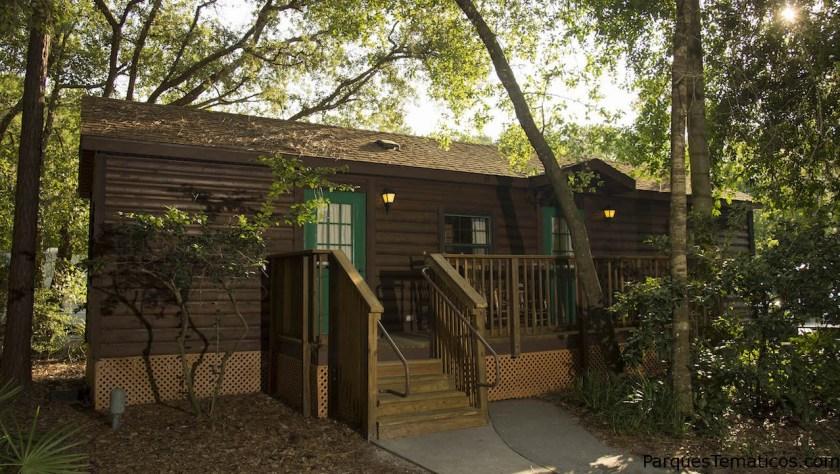Las Cabañas del Disney's Fort Wilderness Resort