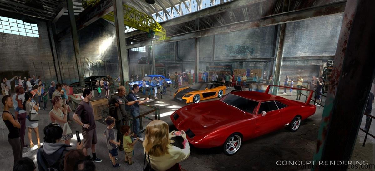 """Atracción completamente nueva de """"Fast & Furious"""" en Universal Orlando Resort en el 2018"""