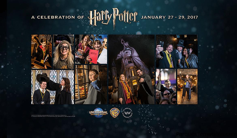 La celebración de Harry Potter vuelve en 2017