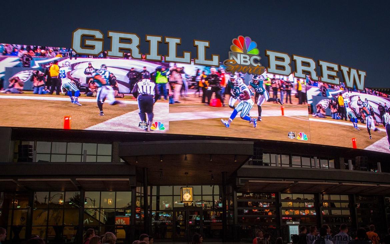 Comenzá tu fin de semana con la noche de fútbol en NBC Sports Grill & Brew