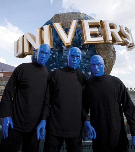 Blue Man Group, uno de los mejores Shows de Universal Studios Florida