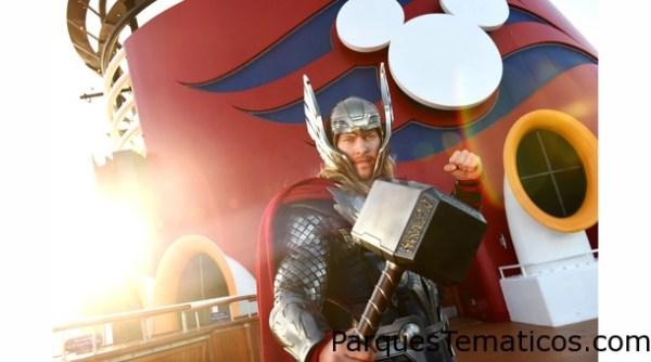 Disney Cruise Line introduce los personajes principales de Marvel en cruceros selectos de Disney Magic