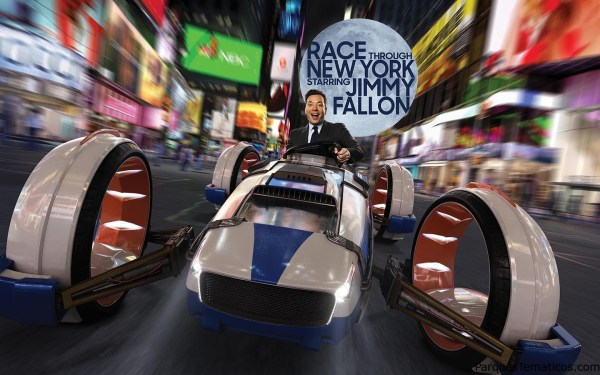 "Universal Orlando revela nuevos detalles de la nueva aventura de ""Race Through New York con Jimmy Fallon"""
