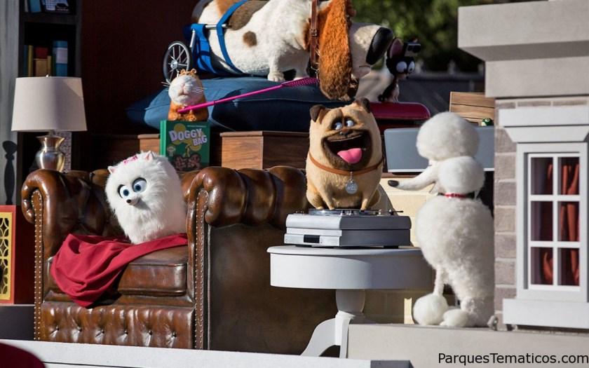 The Secret Life Of Pets ahora con su desfile en Universal's Orlando