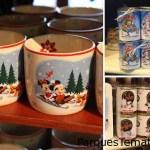 Chocolate en polvo y cocoa hasta con la taza edición especial de Navidad Disney