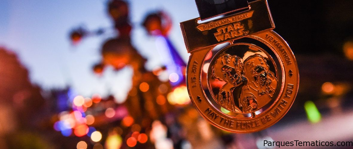 El poder de la fuerza: Media maratón de Star Wars en California