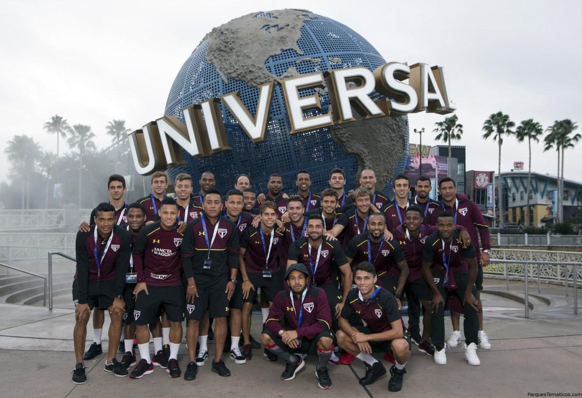 São Paulo FC celebra su Victoria en Universal Orlando