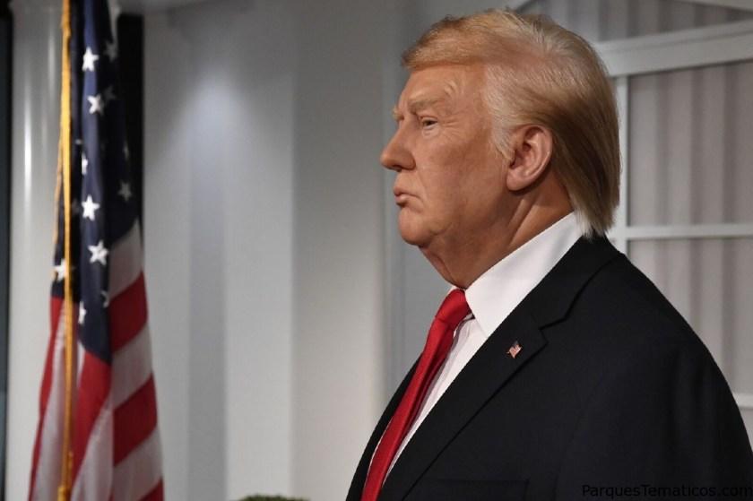Madame Tussaud y el Museo de Cera de Madrid estrenan a Donald Trump