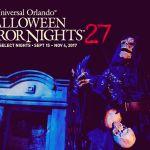 Comienza el pánico: Los Paquetes Vacacionales de Halloween Horror Nights 27 ya están a la venta