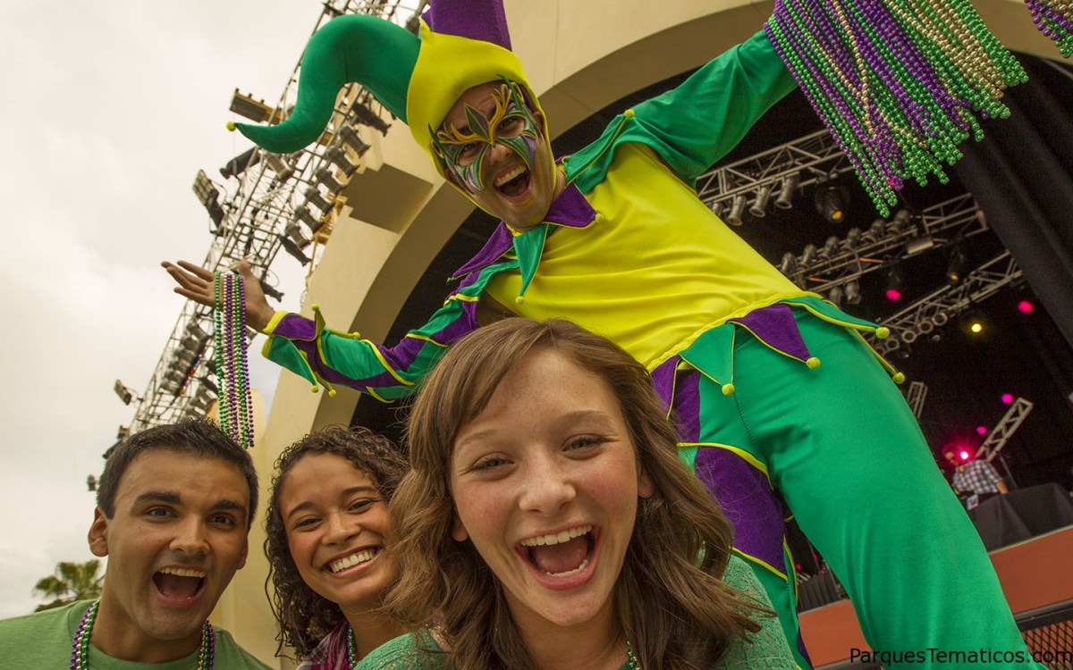 Comenzó la fiesta de Mardi Gras en Universal Orlando Resort
