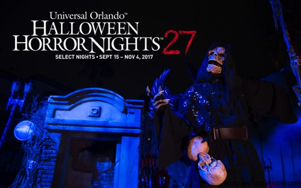 Los paquetes vacacionales de Halloween Horror Nights 27