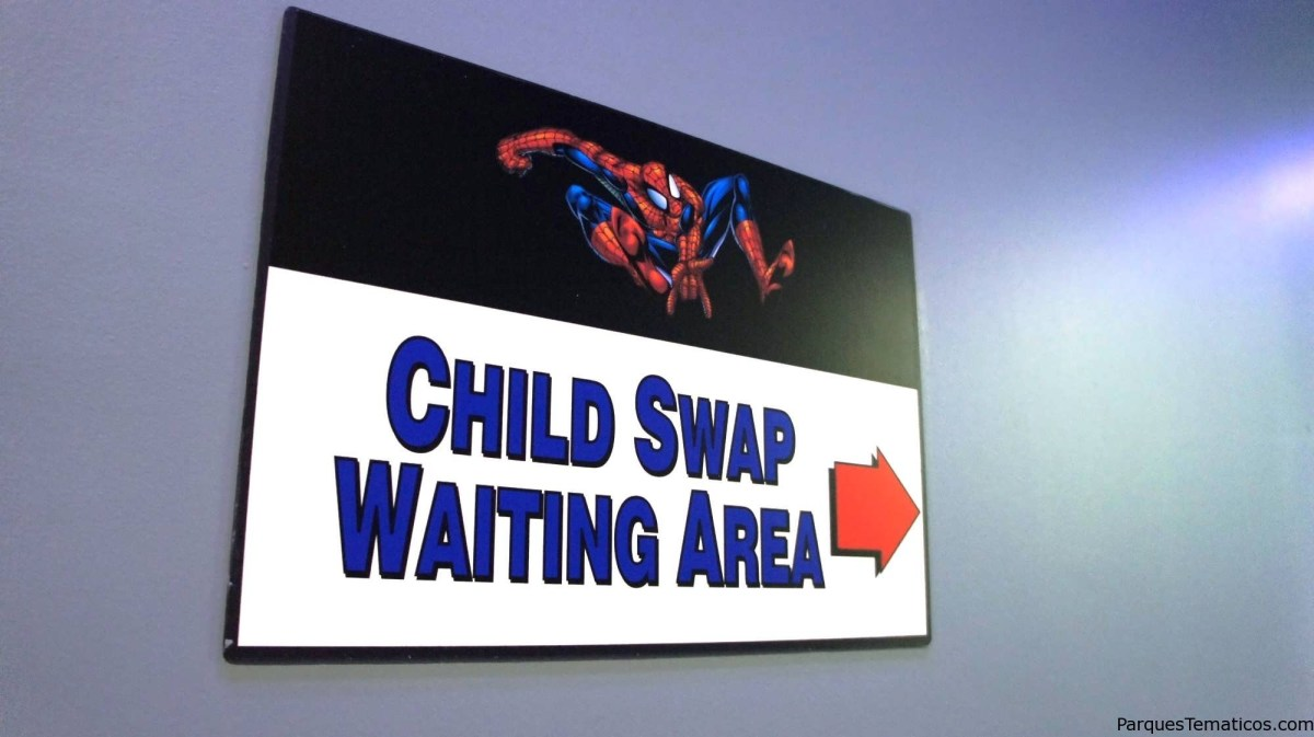 "Qué significa ""Child Swap"" o ""Rider Switch Pass""?"