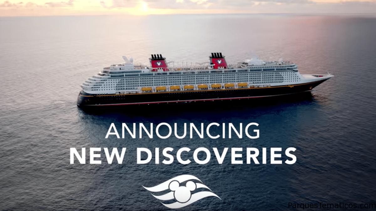 Aventuras alrededor del mundo con Disney Cruise Line