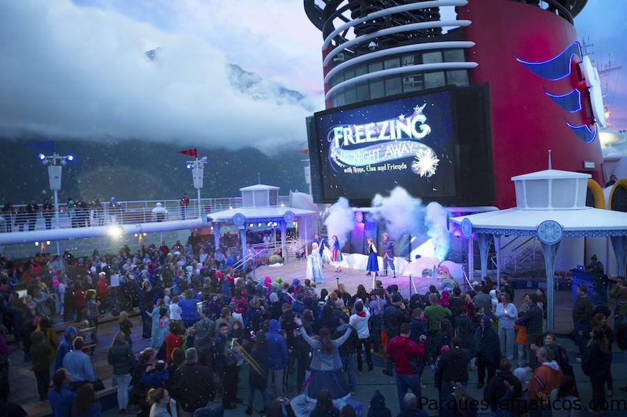 'Frozen Fun' vuelve a bordo de Disney Cruise Line este verano