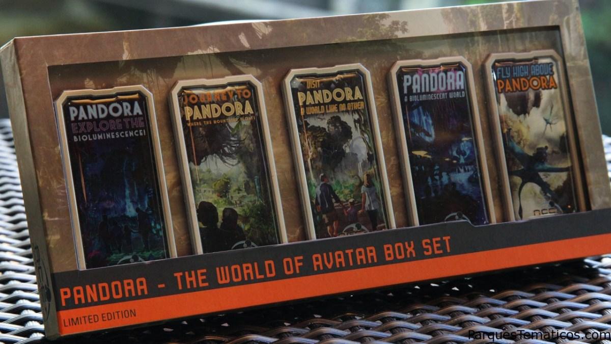 Ya llega el mundo de Avatar con pins coleccionables