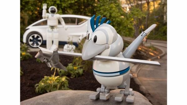 Nueva apariencia y historia de Autopia en Disneyland Park