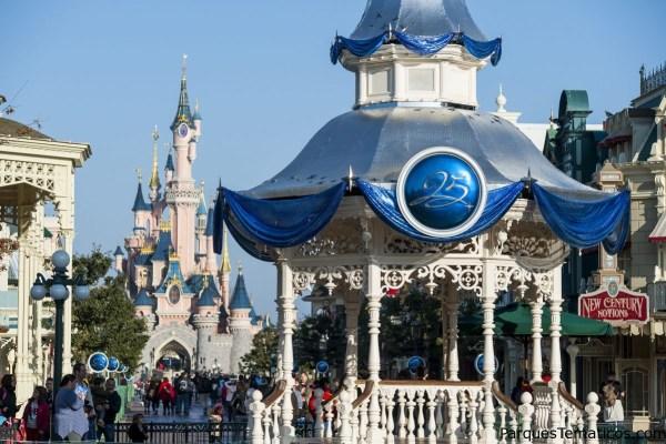 Curiosidades del 25 Aniversario de Disneyland Paris