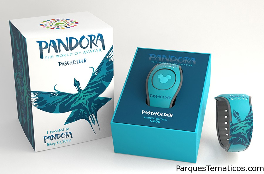 Nuevos diseños de MagicBand 2 exclusivamente para Pandora – The World of Avatar