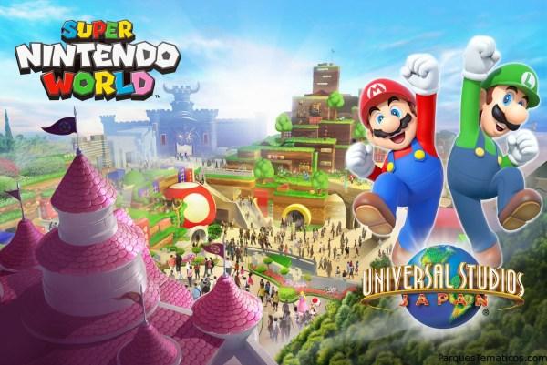 Atracciones de Nintendo en los parques Universal Studios