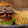 Bison Cheeseburger, Geyser Point Bar & Grill, Disney's Wilderness Lodge