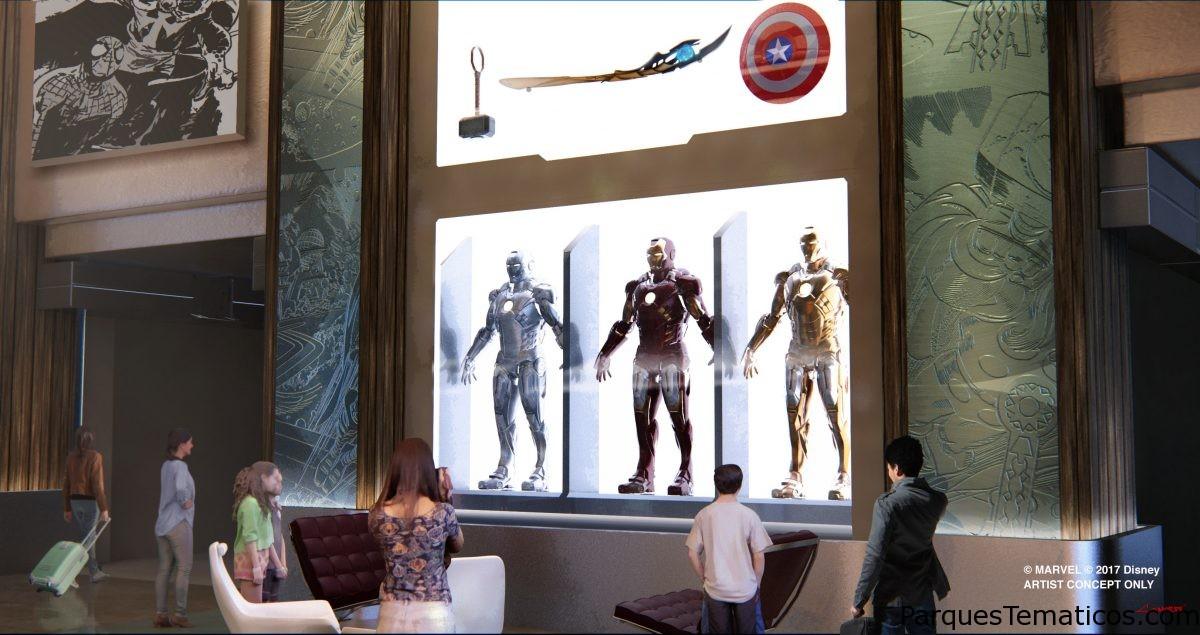 El universo de Marvel llega a Disneyland Paris