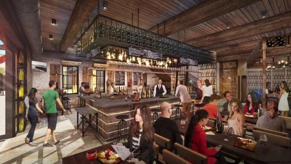 Wine Bar George en Disney Springs