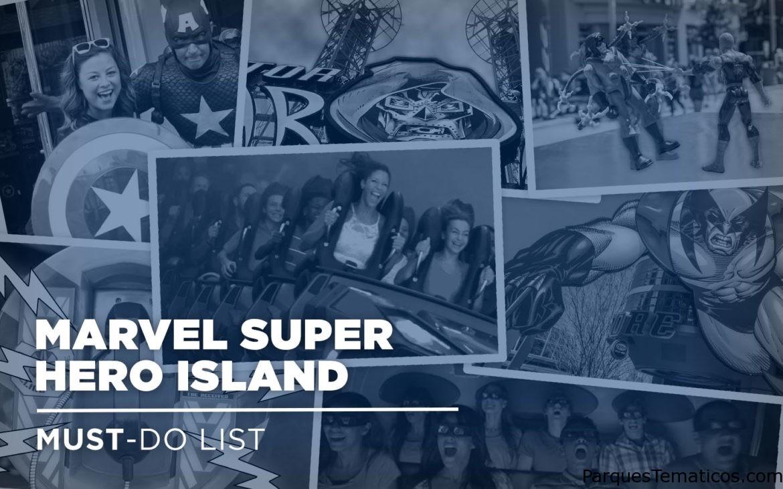 7 COSAS QUE TIENES QUE HACER EN MARVEL SUPER HERO ISLAND EN ISLANDS OF ADVENTURE