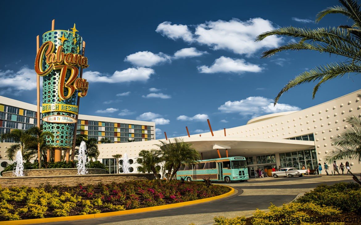 CINCO MARAVILLAS ESCONDIDAS EN UNIVERSAL'S CABANA BAY BEACH RESORT
