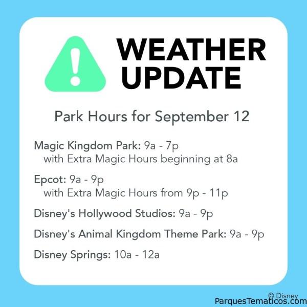 Hoy abren casi todos los parques temáticos en Orlando, horarios para el día de hoy