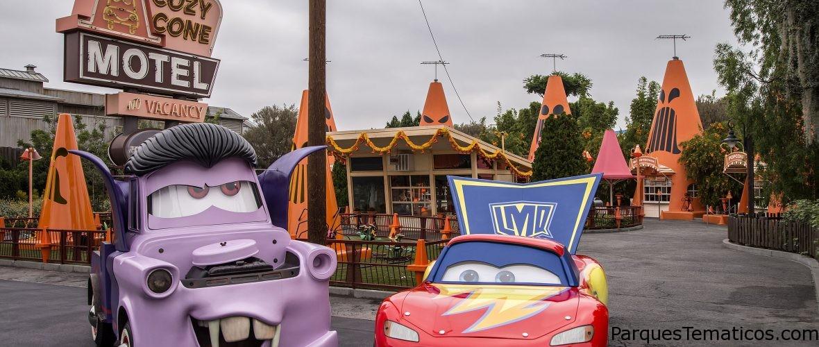 Cars Land Haul-o-Ween, es Halloween al estilo Cars en Disneylandia