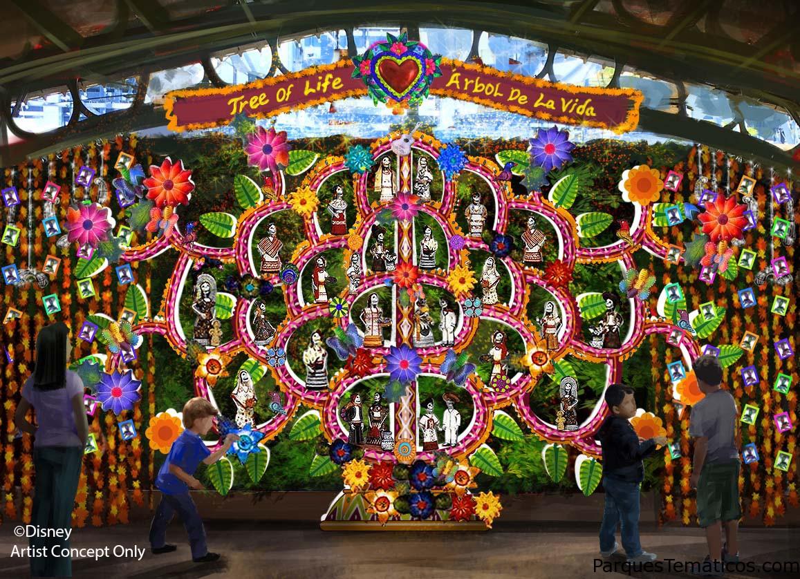 Plaza de la Familia, la celebración de 'Coco' y los eternos lazos de la familia, inauguró en Disney California Adventure Park