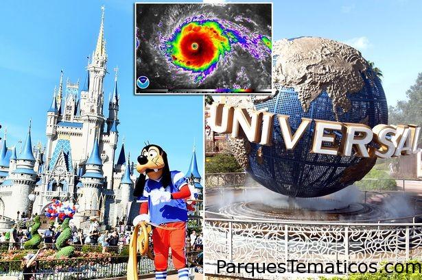Huracán Irma: Parques de Orlando y Tampa cerrados hoy y mañana