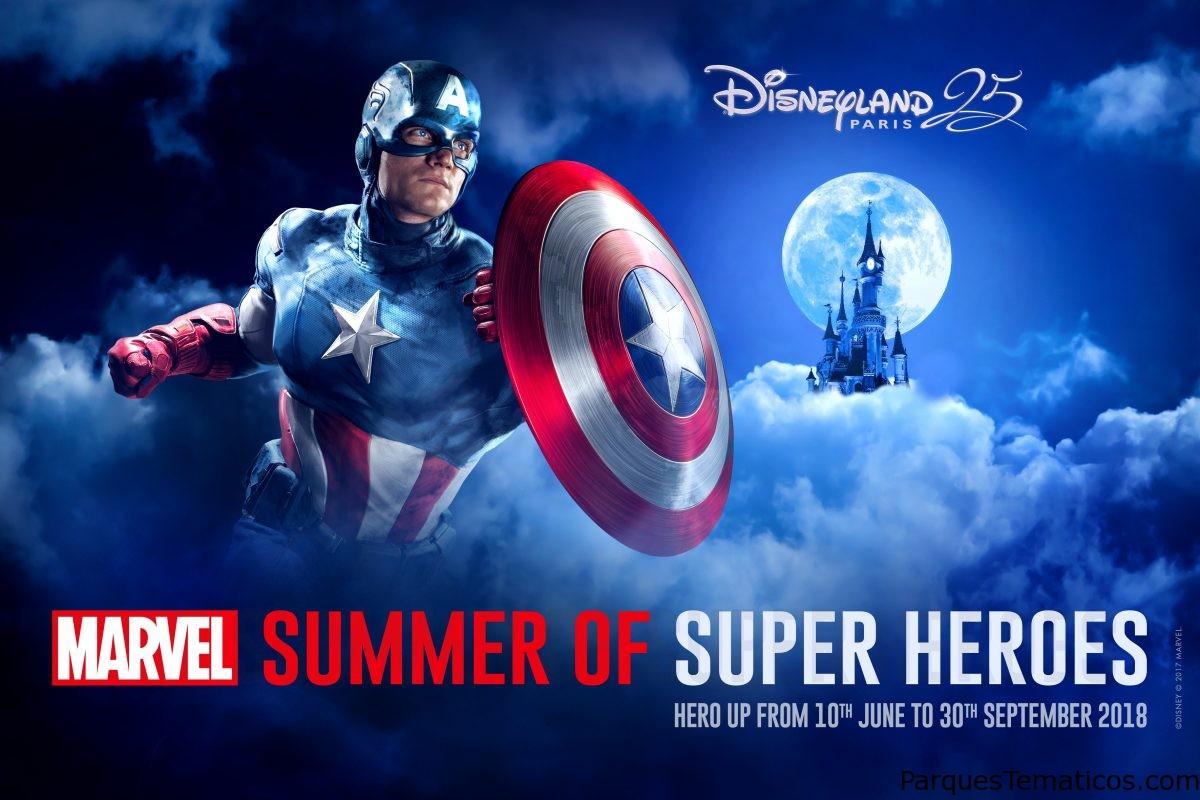 Los superhéroes de Marvel aterrizan en Disneyland Paris el próximo verano