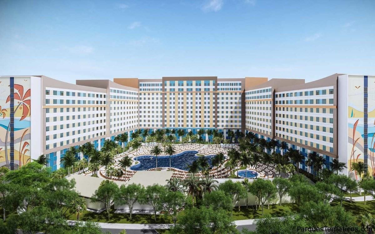 Universal's Aventura Hotel abre sus puertas en Agosto 2018