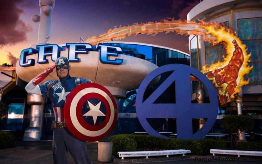Cena con tus superhéroes favoritos en la nueva experiencia Marvel Character Dinner