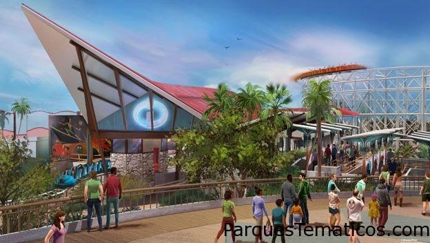 La nueva e increíble Incredicoaster que se estrena en California Adventure Park