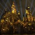 THE NIGHTTIME LIGHTS EN EL CASTILLO DE HOGWARTS EMPIEZA ESTA NOCHE