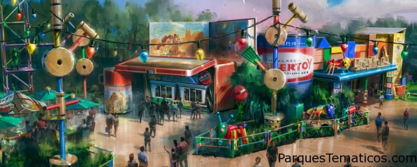 Toy Story Land 30 de junio de 2018