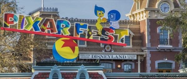 Disneyland Resort celebrar por primera vez Pixar Fest,  hasta el 3 de septiembre de 2018